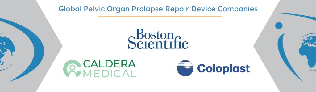 Boston Scientific, Caldera Medical, Coloplast: Leader's in the global pelvic organ repair device market