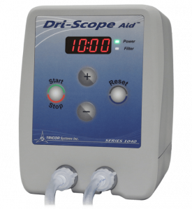 TRICOR-Systems Inc. Launches Dri-Scope Aid®2 with Dual Timer to Assist in the Drying of the Internal Channels of an Endoscope